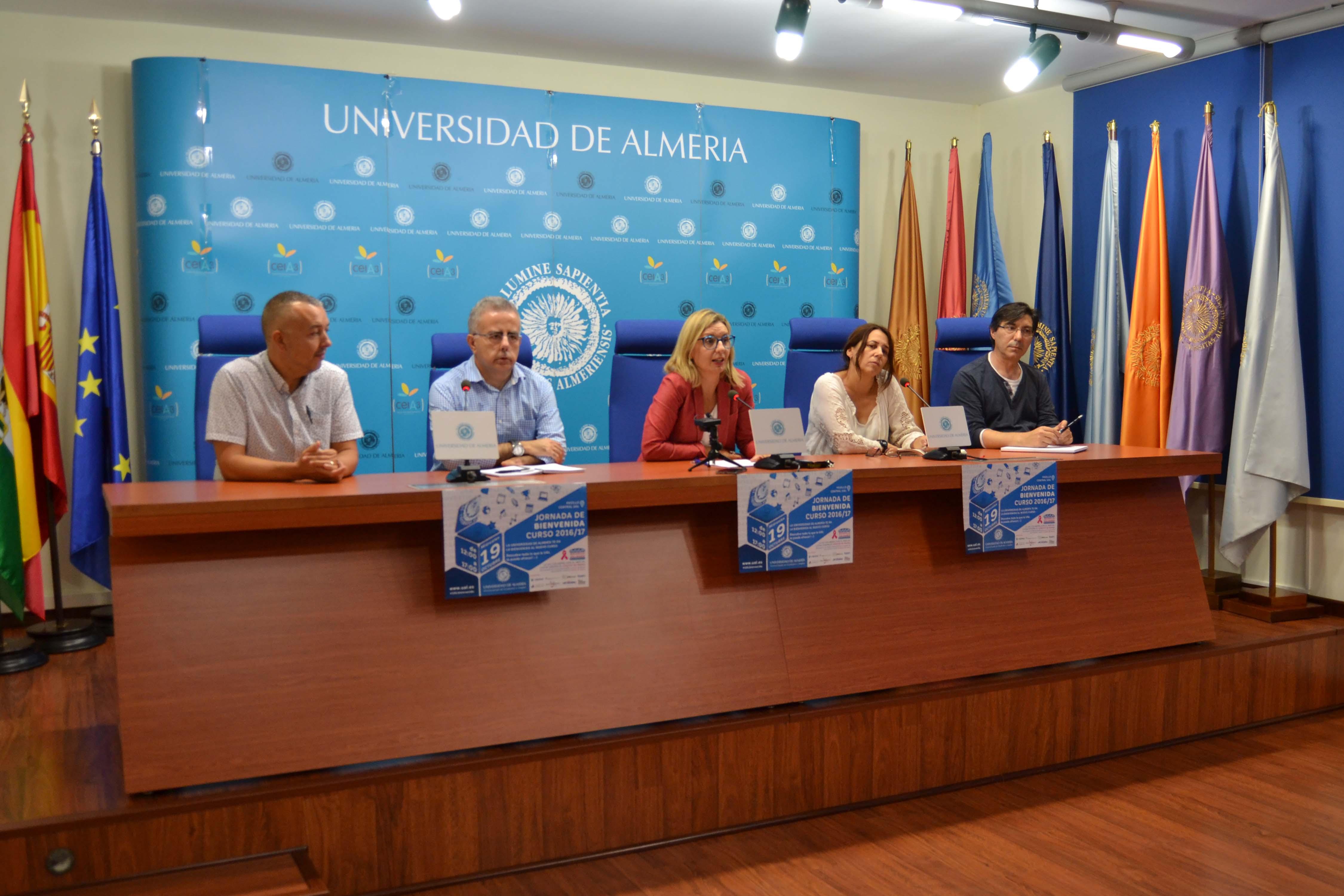 La UAL celebrará la Jornada de Bienvenida el próximo 19 de octubre ...