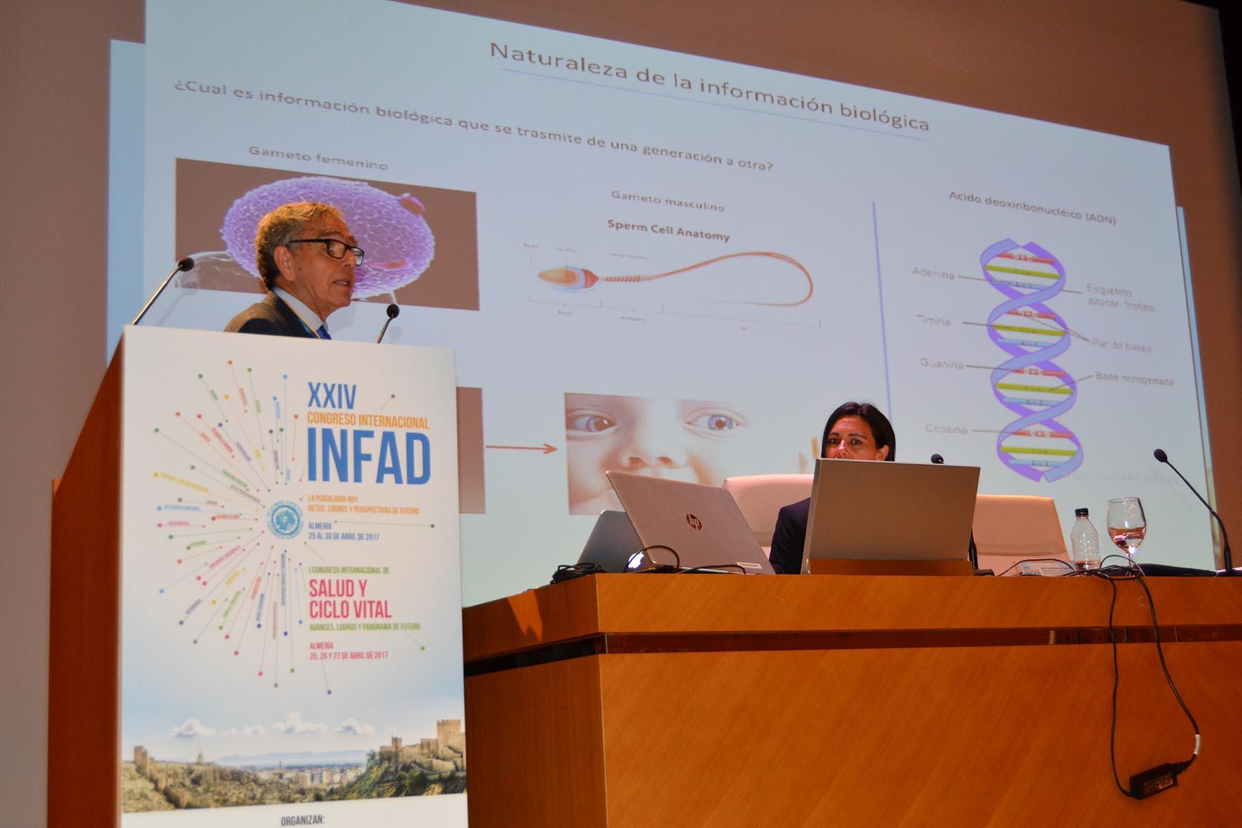 Ginés Morata profundiza en el futuro de la biología molecular