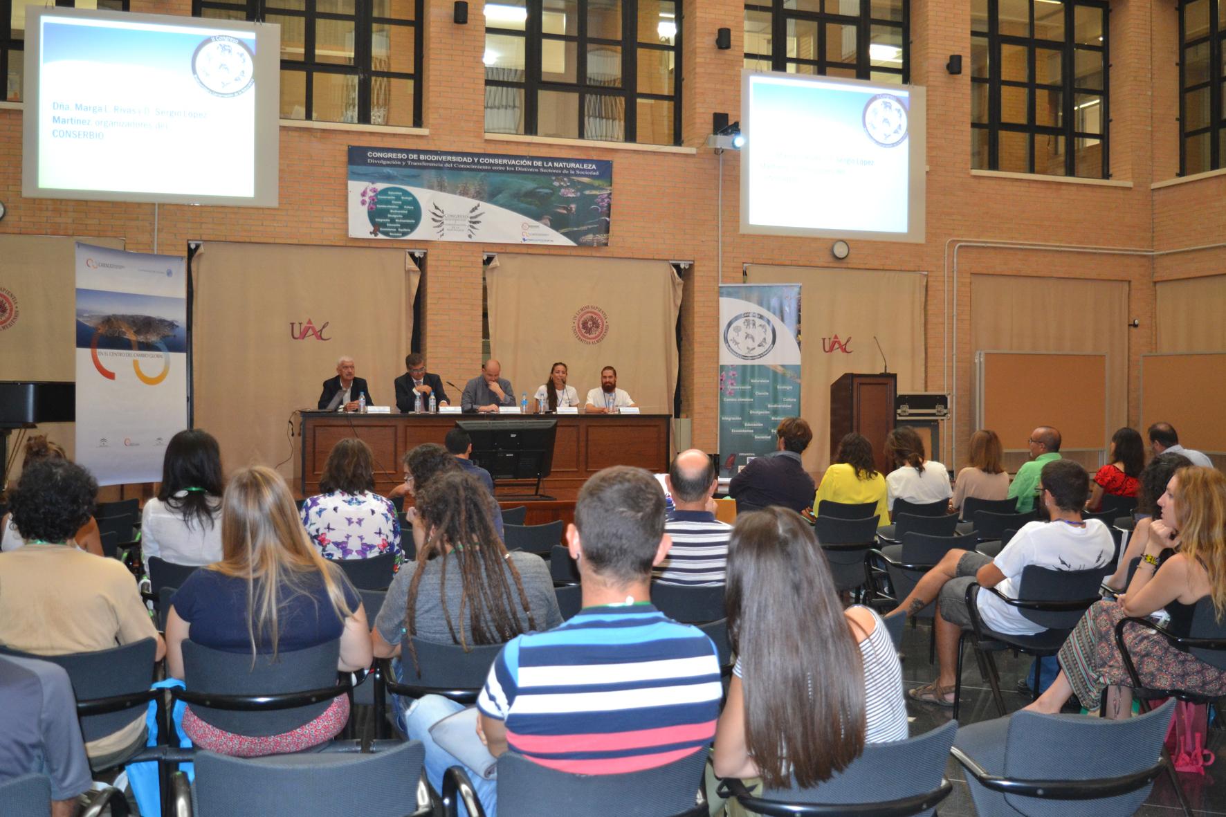 El II Congreso de Biodiversidad y Conservación de la Naturaleza se consolida en la UAL
