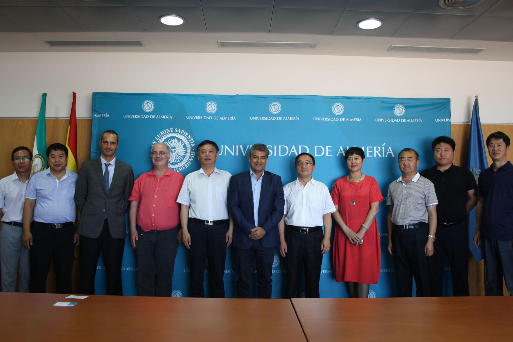 La UAL estrecha lazos con Hebei, una de las regiones de China con mayor producción agrícola