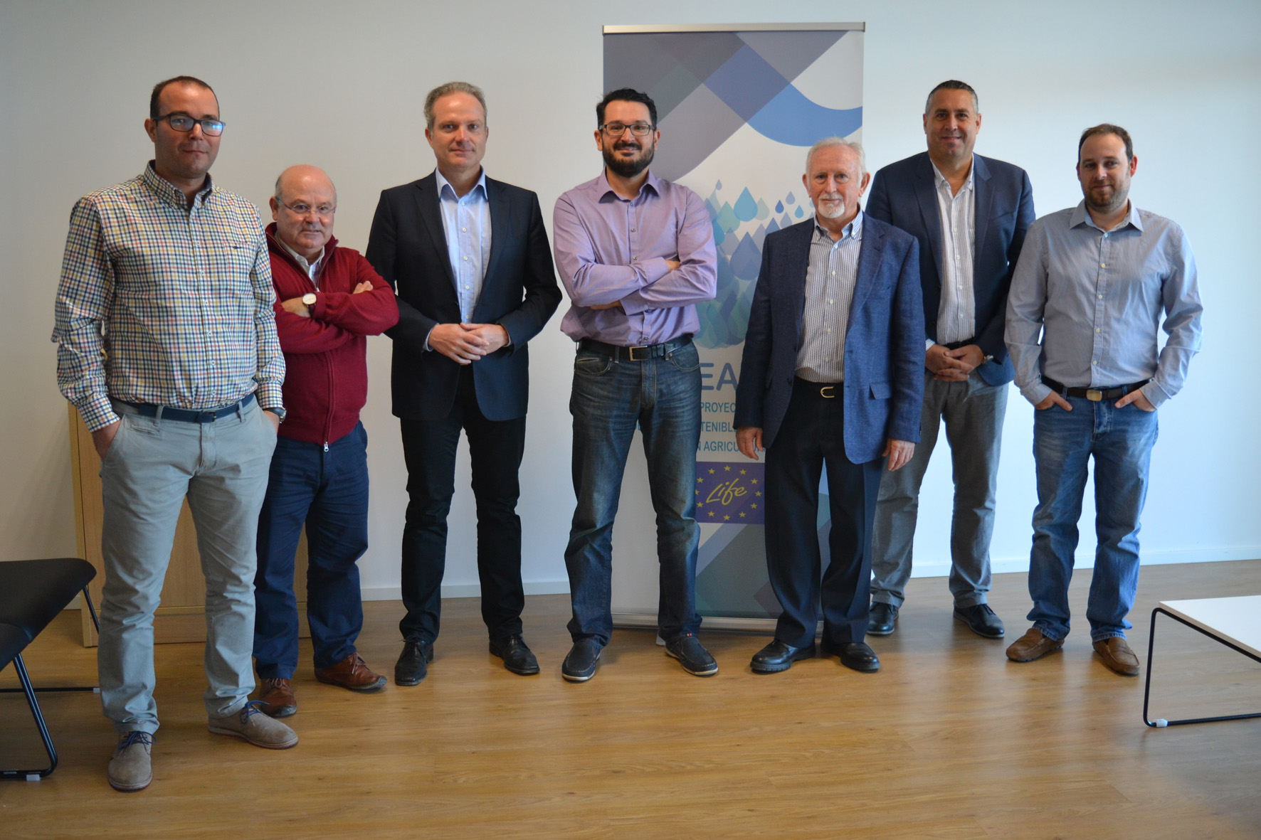 La UAL busca soluciones a la escasez de agua de cultivo con el proyecto europeo Deseacrop