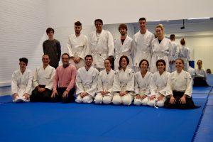 El aikido se populariza en la UAL y realiza su primer examen de grado con brillantez