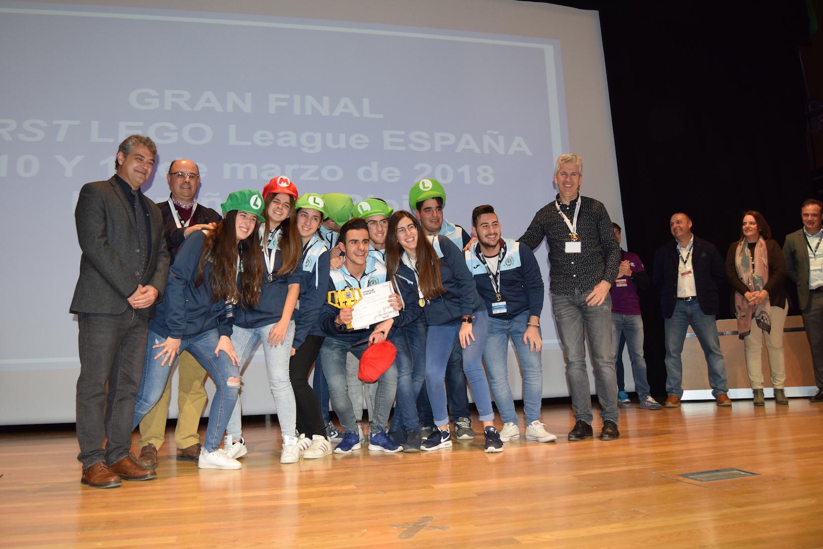 El equipo Cardenal Cisneros se lleva el Torneo First Lego League Almería 2018