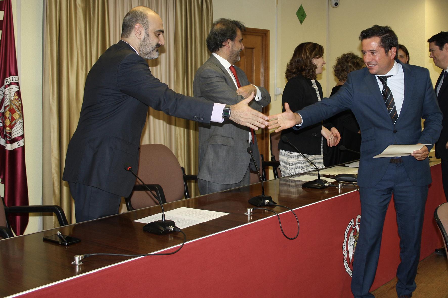 Premio a la 'Mejor investigación en el Área de Derecho' para el trabajo de Vargas Vaserot