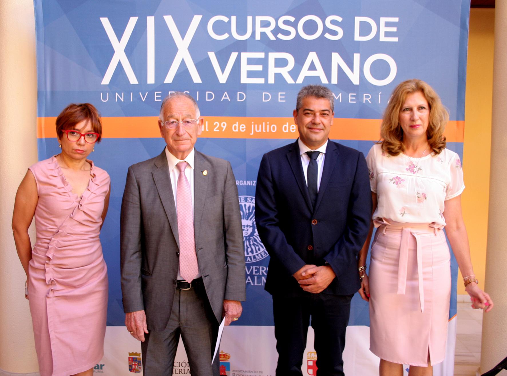 La Xix Cursos De Verano De La Ual Comienza Con Fuerza En La Sede De Roquetas De Mar Ualnews