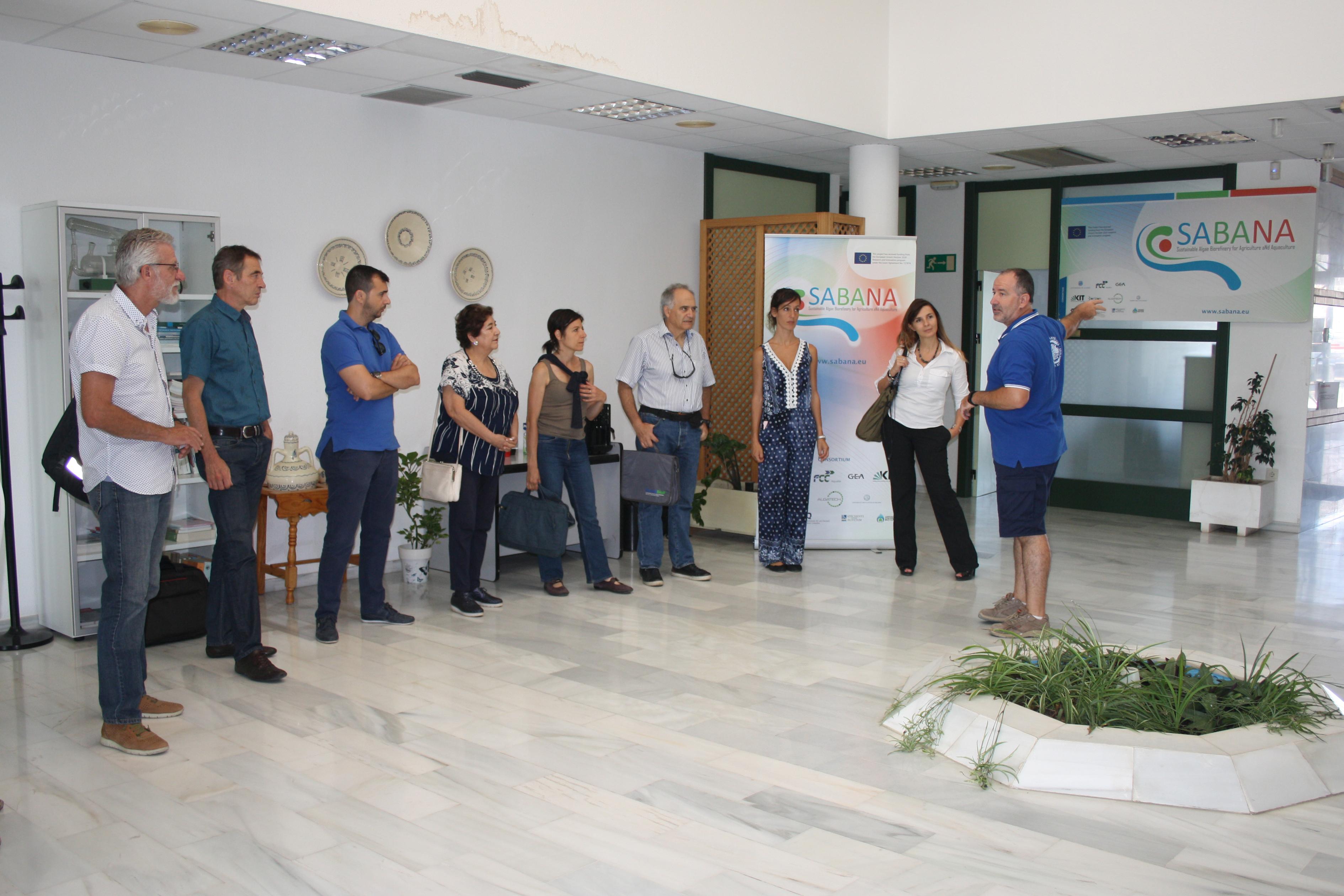 La UAL produce ya productos para la agricultura y la acuicultura en el marco del proyecto SABANA