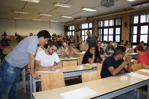Un 93 por ciento de estudiantes aprueba la PEvAU