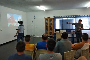 La UAL ayuda a la reinserción de los presos de El Acebuche valiéndose de realidad virtual
