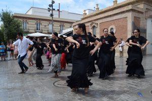 Las 'alegrías' del curso de verano sobre coreografía conquistan el corazón de Almería