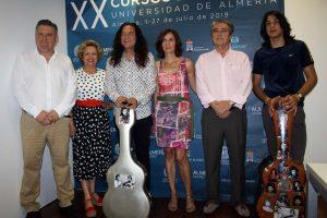 """""""Quiero que los Cursos de Verano de la UAL de guitarra flamenca se queden a mi cargo"""""""