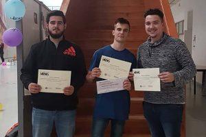 Tres estudiantes de la Universidad de Almería diseñan unas gafas para invidentes