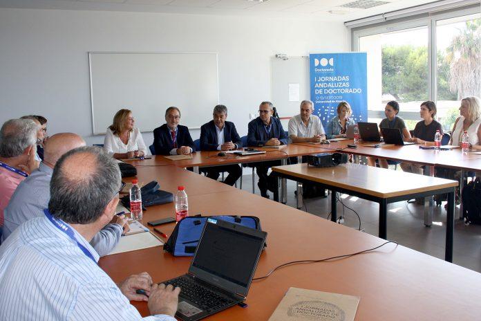 Responsables de Andalucía sientan las bases para la creación de la Sectorial Andaluza de Doctorado