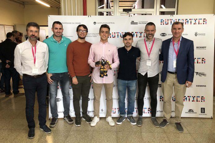 Estudiantes de la UAL ganan el concurso nacional de Ingeniería de Control