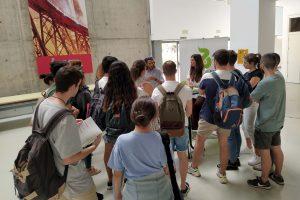 Estudiantes de la UAL conocen las salidas profesionales del sector de la obtención vegetal