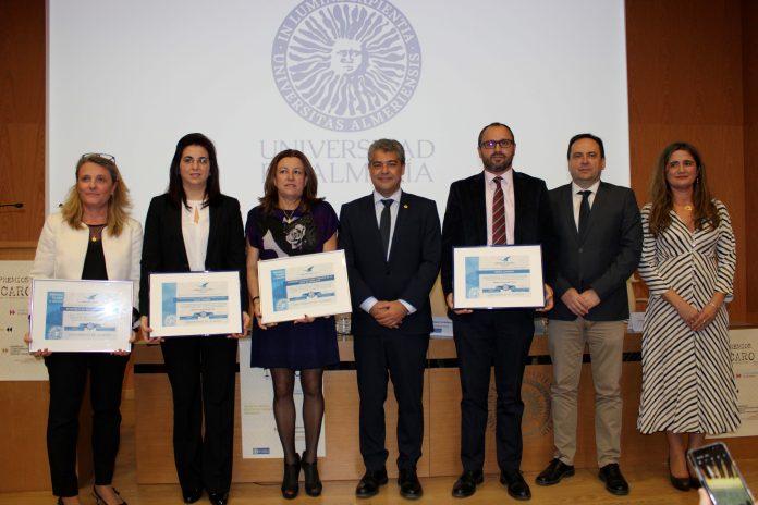 La UAL premia en la décima edición de sus Ícaro a entidades que fomentan la inserción laboral