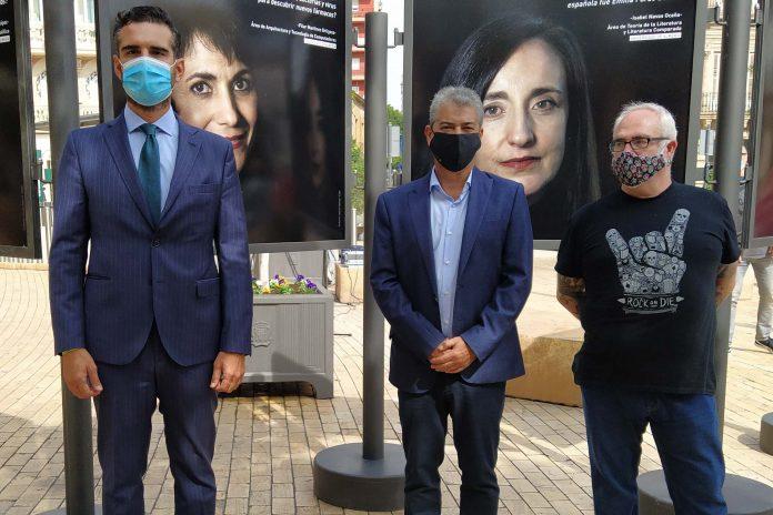 Los rostros de los científicos de la UAL toman el centro de Almería
