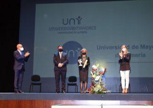 Diario de Almería otorga su 'Premio Sociedad 2020' a la Universidad de Mayores de la UAL