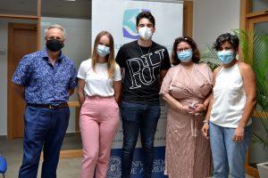 La Facultad de Psicología entrega su Premio de la Feria de las Ideas al proyecto 'Gafas emocionales'