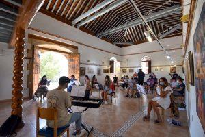 Los Cursos de Verano de la UAL en el Festival de Música Renacentista y Barroca de Vélez Blanco terminan con éxito de calidad y de participación